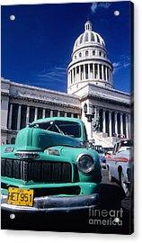 Classic Cuba Acrylic Print