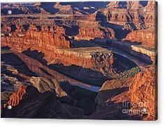 Classic Dead Horse Point Sunrise Acrylic Print by Mark Kiver