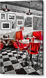 Classic Diner Acrylic Print
