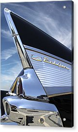 Classic Fin - 57 Chevy Belair Acrylic Print