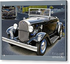 Acrylic Print featuring the photograph Classic Ford by Victoria Harrington