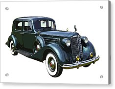 Classic Green Packard Luxury Automobile Acrylic Print