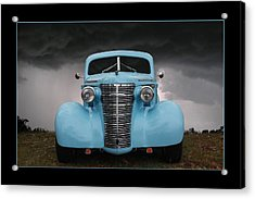 Acrylic Print featuring the photograph Classic In Blue by Keith Hawley