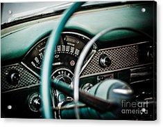 Classic Interior Acrylic Print by Jt PhotoDesign