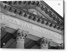 Classic Iowa State University Acrylic Print by University Icons
