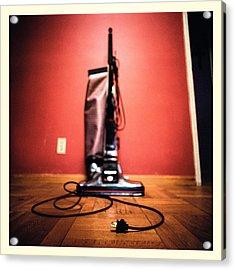 Classic Kirby Vacuum Acrylic Print by Yo Pedro