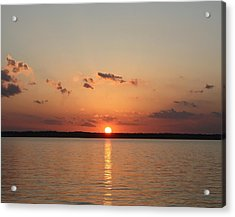 Classic Lake Sunset Acrylic Print