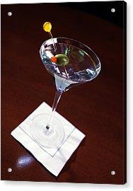 Classic Martini Acrylic Print by Jon Neidert