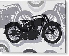 Classic Motorcycle  Acrylic Print by Daniel Hagerman