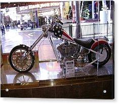 Classic Motorcycle Acrylic Print