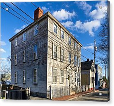 Classic New England Architecture Acrylic Print by Mark E Tisdale