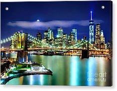 Classic New York Skyline Acrylic Print