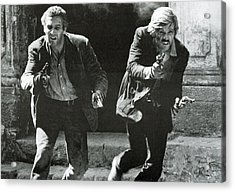 Classic Photo Of Butch Cassidy And The Sundance Kid Acrylic Print