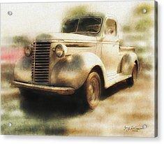 Classic Pickup Acrylic Print