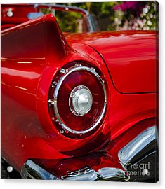 Acrylic Print featuring the photograph 1957 Ford Thunderbird Classic Car  by Jerry Cowart