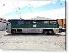 Classic Retro Greyhound Bus 5d25255 Acrylic Print by Wingsdomain Art and Photography