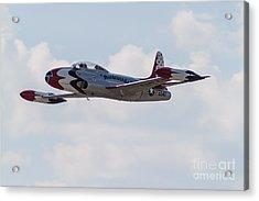 Classic Thunderbird Acrylic Print by Brandon Hussey