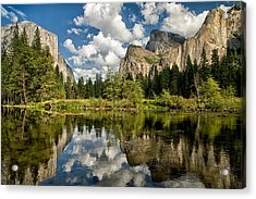Classic Valley View Acrylic Print by Cat Connor