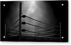 Classic Vintage Boxing Ring Acrylic Print