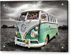 Classic Vw Campavan Acrylic Print