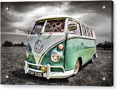 Classic Vw Camper Van Acrylic Print