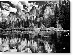 Classic Yosemite Acrylic Print by Cat Connor