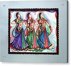 Classical Dance1 Acrylic Print by Harsh Malik