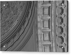 Classical Dome And Vault Detail Acrylic Print by Lynn Palmer