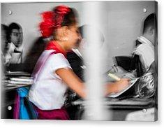 Classroom Acrylic Print