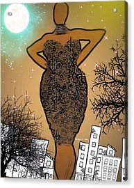 Classychic Acrylic Print by Romaine Head
