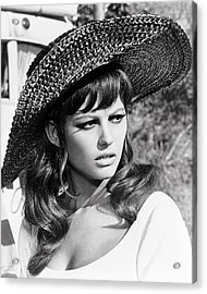 Claudia Cardinale In Don't Make Waves  Acrylic Print by Silver Screen