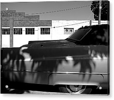 Claws On The Coupe Deville Acrylic Print