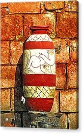 Clay Art Acrylic Print
