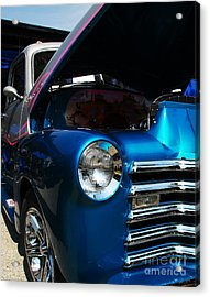 Clean And Shiny 1 Acrylic Print by Mel Steinhauer