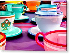 Acrylic Print featuring the photograph Clean Cup Clean Cup Move Down by Benjamin Yeager