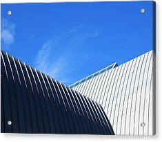 Clean Lines - Architectural Photography By Sharon Cummings  Acrylic Print by Sharon Cummings