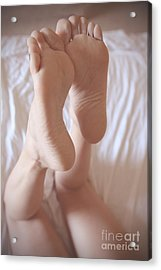 Clean Soles Display Acrylic Print by Tos