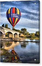Clear And Away Acrylic Print by Mick Flynn