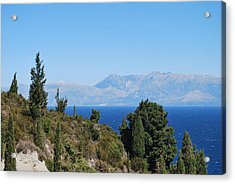 Acrylic Print featuring the photograph Clear Day by George Katechis