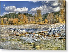 Acrylic Print featuring the photograph Clear Stream by Wanda Krack