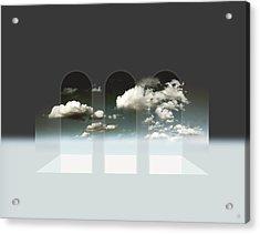 Clear Window Acrylic Print by Florin Birjoveanu