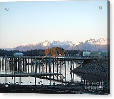 Acrylic Print featuring the photograph Clear Winter's Day by Laura  Wong-Rose