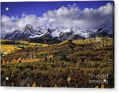 Clearing Storm At The Dallas Divide Acrylic Print