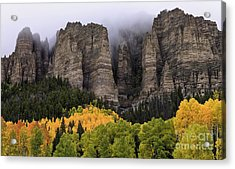 Clearing Storm Over The Cimarrons Acrylic Print