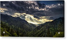 Clearing Storm Panorama Acrylic Print