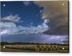 Acrylic Print featuring the photograph Clearing Storm by Rob Graham