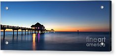 Clearwater Beach Pier Acrylic Print
