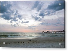 Clearwater Fishing Pier Acrylic Print