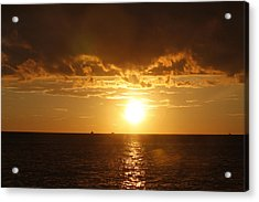 Clearwater Sunset Acrylic Print by Ivete Basso Photography