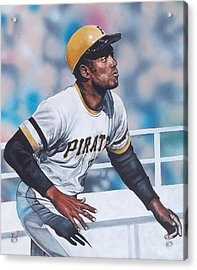 Clemente Acrylic Print by D A Nuhfer